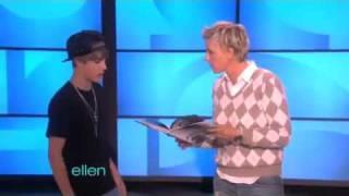Justin Bieber Surprises Ellen & Dance