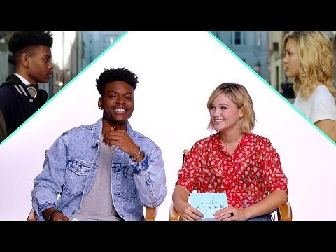 Olivia Holt & Aubrey Joseph of Marvel's Cloak and Dagger Interview Each Other | News by Disney Style