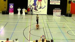 Anja Gentner & Christian Gartmeier - Landesmeisterschaft Bayern 2015