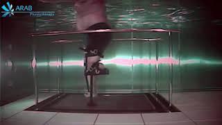 use of iWalk2 0 on underwater treadmill