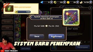 Kena Kutukan Dewa Kambing - System baru Penempaan !!! Dragon Nest M