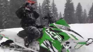 Modified Arctic Cat 1100 Turbo ProClimb 290 HP Super Chute Evolution Powersports EVOPS Hill Climb