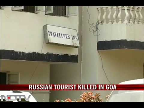 Russian tourist killed in Goa