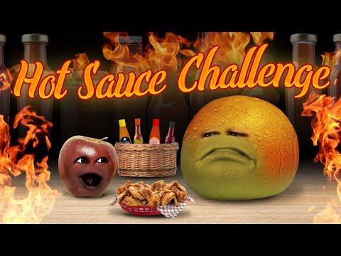 Annoying Orange - Hot Sauce Challenge