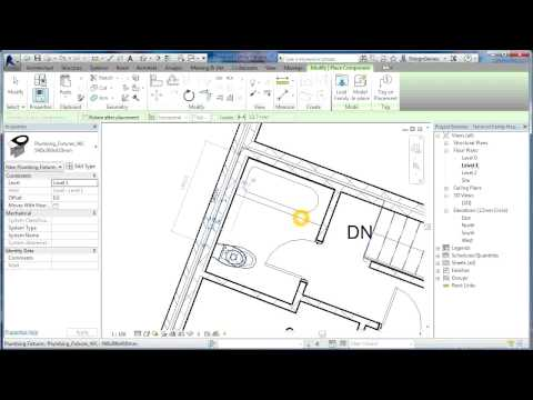 Revit Tutorials | Terraced Houses Design 4 | Revit Architecture 2014