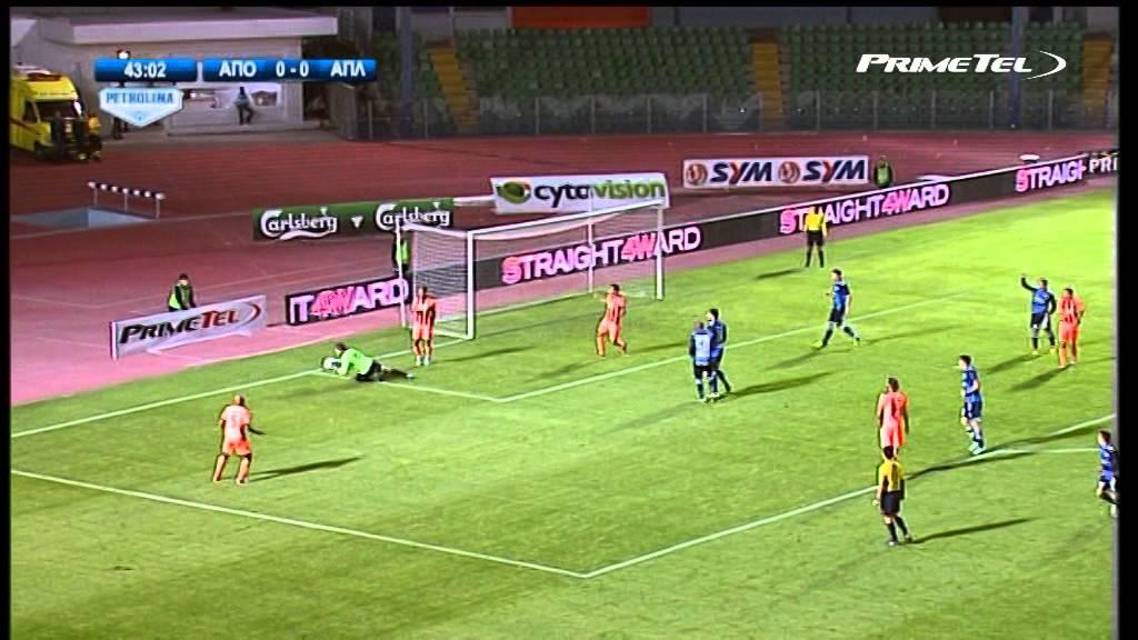 Apollon Limassol FC 0-0 APOEL Nicosia