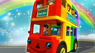 (0 MB) Wheels On The Bus | Nursery Rhymes for Children Mp3