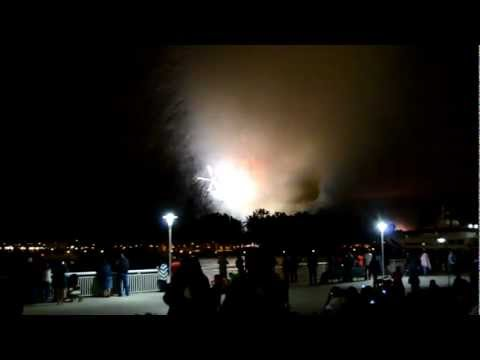 2012 San Diego &quot;Big Bay Boom&quot; Fireworks Bust / Fail in 720P HD