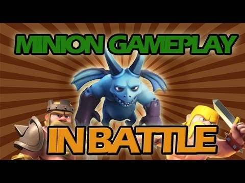 Let's Play #1 New Minion and Dark Elixir Troop Awesome Gameplay + Battles + 2k Subs!