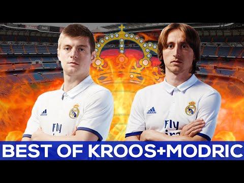 Toni Kroos and Luka Modric BEST OF | La Liga 2015-2016 |REAL MADRID GOALS