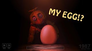 World Record Egg in the Salvage with Chica