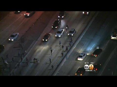 Block 101 Protesters Block 101 Freeway
