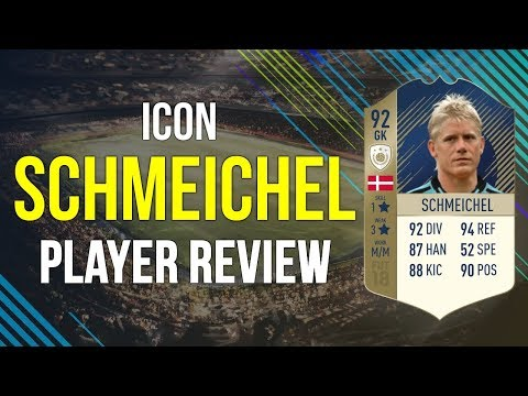FIFA 18 - PRIME ICON SCHMEICHEL (92) PLAYER REVIEW