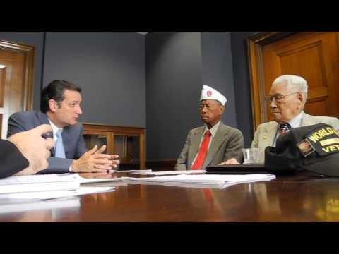 Sen. Ted Cruz Apology To Us Filipino Vets 9 30 13 video