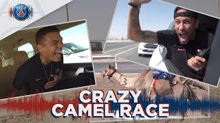 CRAZY CAMEL RACE !!! with Neymar Jr, Mbappé