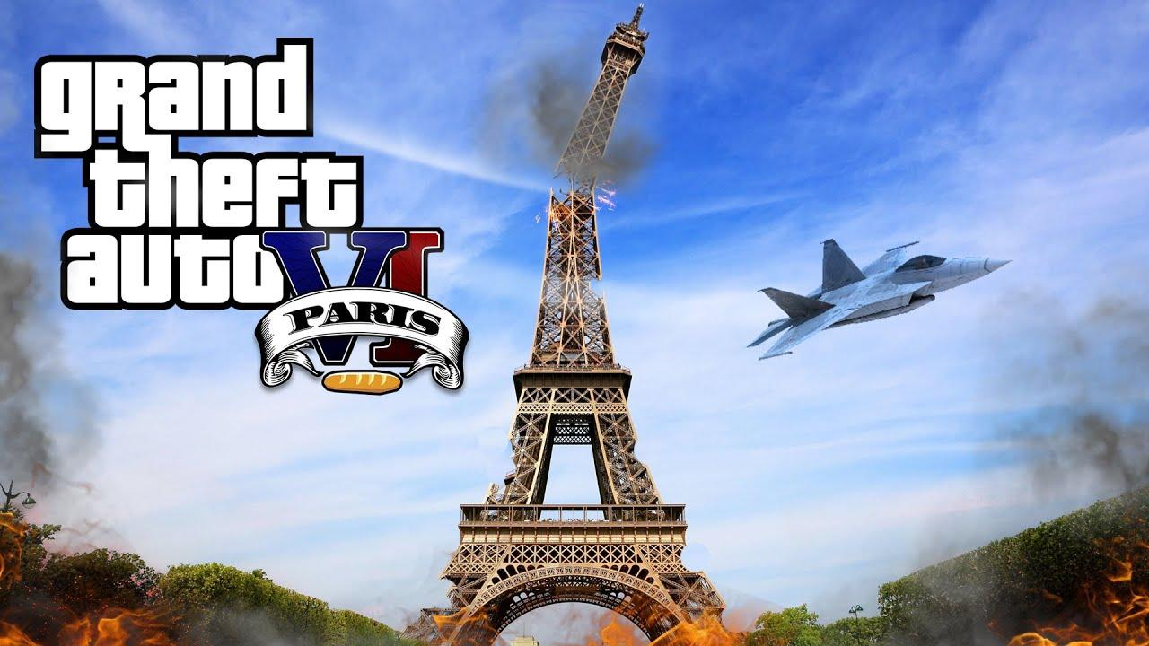 Paris Theft Grand Theft Auto vi Paris