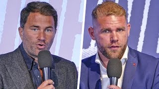 Billy Joe Saunders & EDDIE HEARN ANNOUNCEMENT PRESS CONFERENCE | Matchroom Boxing