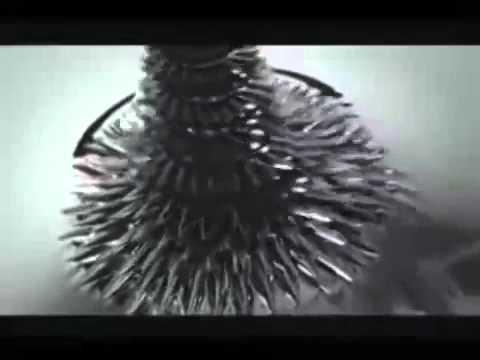 Эксперименты с ферромагнитной жидкостью