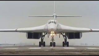 WORLDS FASTEST Strategic Aircraft Tu-160 Take Off & Landing