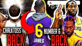 The BIG Los Angeles Lakers News!  LeBron Going Back in Time + Kawhi Leonard Meeting