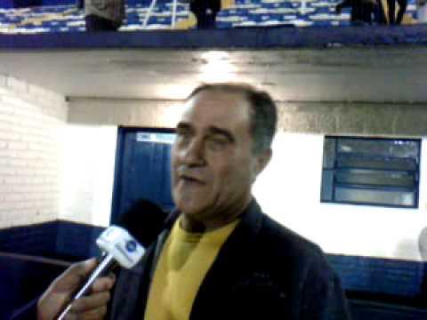 Entrevista Pós jogo Glória 2 x 0 Brasil de Farroupilha