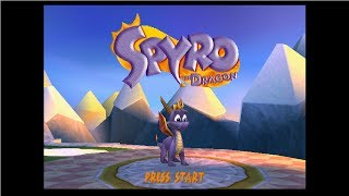 Spyro the Dragon - Complete 120% Walkthrough - All Dragons, All Gems, All Eggs (Longplay)