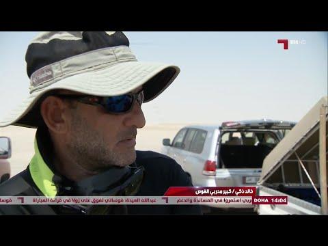 Khaled Zaki  AlKass TV Diving in Qatar  Sea line beach