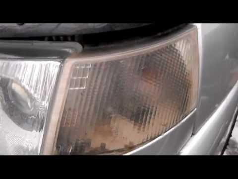 Видео как снять фару ВАЗ 2112