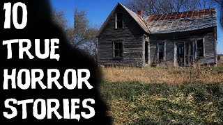 10 Terrifying TRUE Horror Stories From Reddit!   Told In The Snow