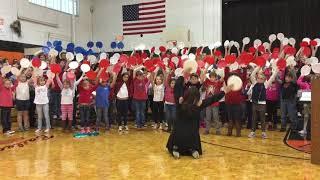 Bulls Gap students recognize Veterans Day singing America the Beautiful