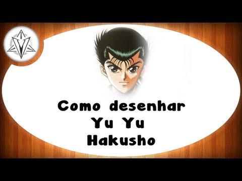 Aula de Desenho - Yusuke Urameshi -  Yu Yu Hakusho