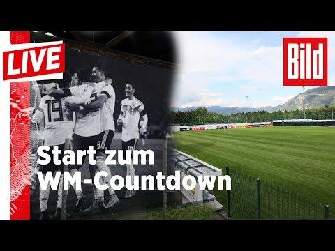 Start zum WM-Countdown - So macht Jogi seine Jungs fit - BILD Live 23.05.18