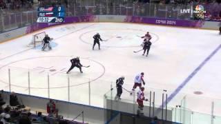 USA vs Russia Olympics 2014 Ice hockey FULL