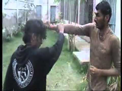 Fight Of Amjad Ali Brohi .................like Jet Lee And Tony Jaa video