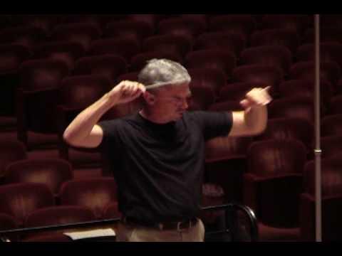 Dallas Wind Symphony - Lincolnshire Posy Recording Sessions  Video 1