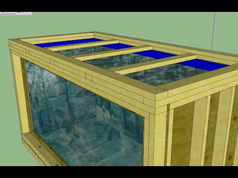 Woodworking plans plywood aquarium plans pdf plans for Plywood fish tank