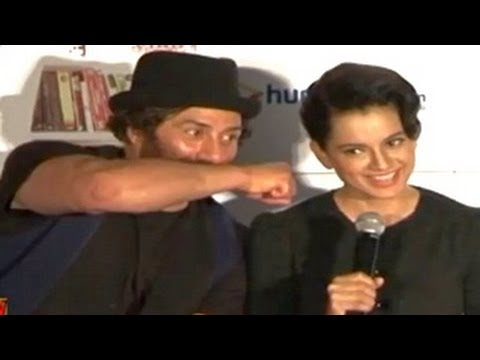 Kangana Ranaut gets INSULTED at I Love New Year Theatrical Trailer...