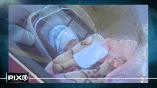 Baby left with note in locked car while mom goes shopping