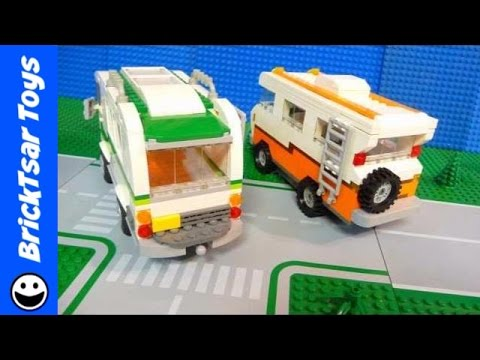 Lego Review Build Together RV #2 and Comparison to first version