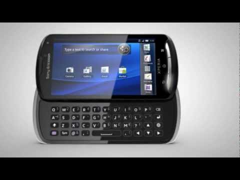 Sony Ericsson XPERIA Pro Commercial