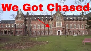 NOT CLICKBAIT! Chased Inside Abandoned Haunted