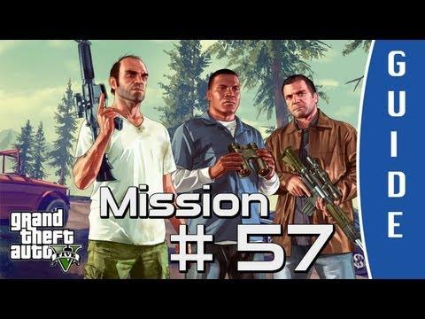 GTA V (Grand Theft Auto 5) Walkthrough   The Bureau Raid   Mission #57 [HD]