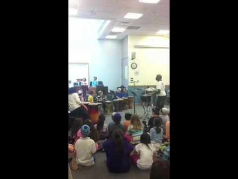 Mr kool at Cohen Hillel academy