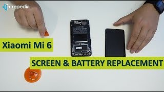 Xiaomi Mi 6 - Screen & Battery Replacement   Disassembly   Teardown Guide