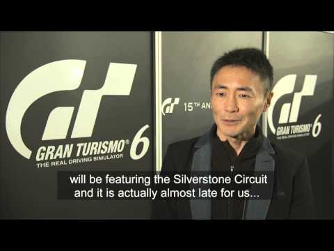 Gran Turismo 6 announcement event