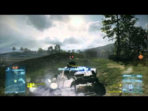 Battlefield 3 : Caspian Border : Rush (Attacker) : Playstation 3