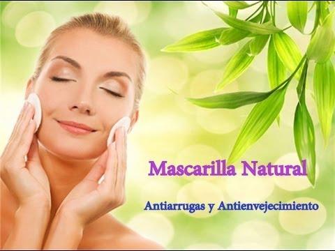 Mascarilla Antiarrugas y antienvejecimiento / Por Alicia Borchardt