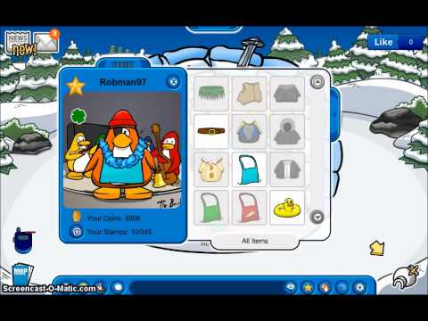 Club Penguin free rare account