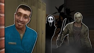 JASON VOORHEES IS AFTER US! - Garry's Mod Gameplay - Gmod Horror Slashers Gamemode