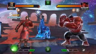 Red Hulk Laberinto de leyendas
